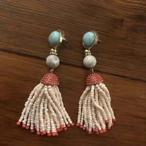 BaubleBar Tassel Drop Earrings